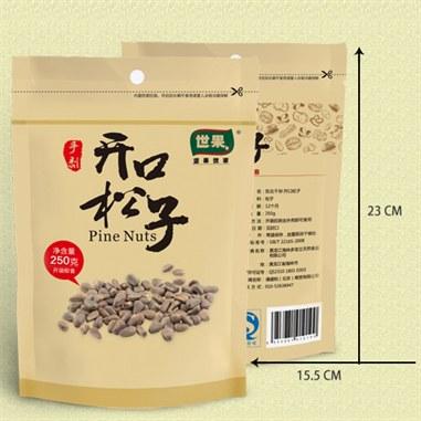 【多宝立】东北特产 干炒松子250g/袋