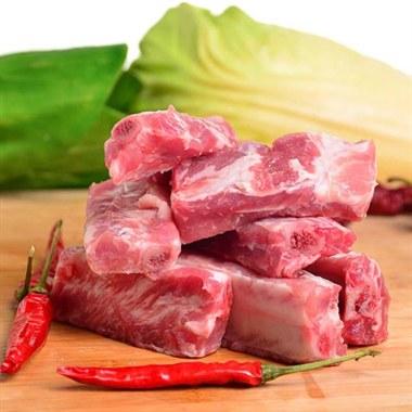 【添康】生态有机猪肉 肋排 500g/盒 排骨